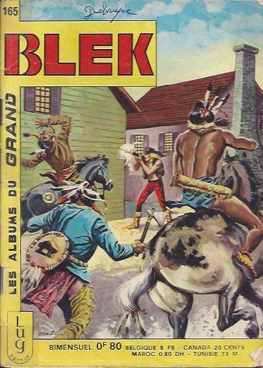 Couverture de Blek (Les albums du Grand) -165- Numéro 165