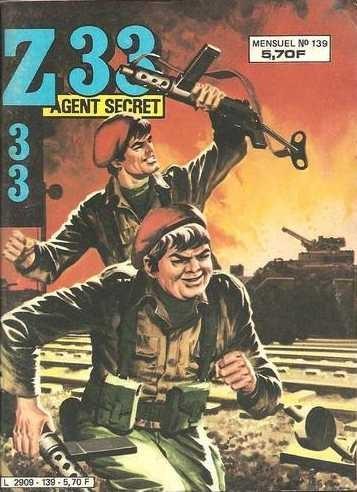 Couverture de Z33 agent secret -139- Berceuse pour un sorcier