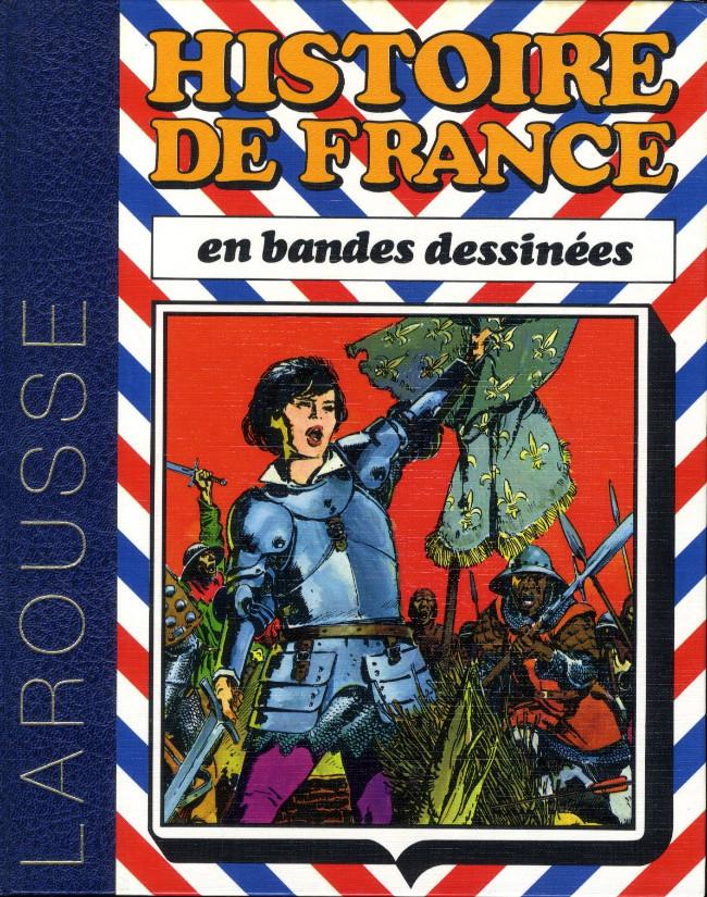 Couverture de Histoire de France en bandes dessinées (Intégrale) -3- De Saint Louis à Jeanne d'Arc