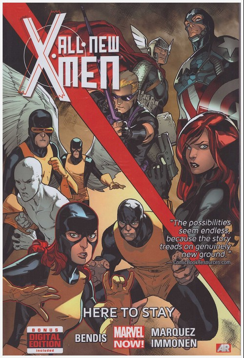 Couverture de All-New X-Men (Marvel comics - 2012) -INT02- Here to stay