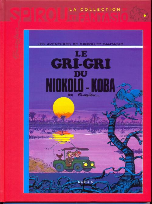 Couverture de Spirou et Fantasio - La collection (Cobra) -27- Le Gri-Gri du Niokolo-Koba
