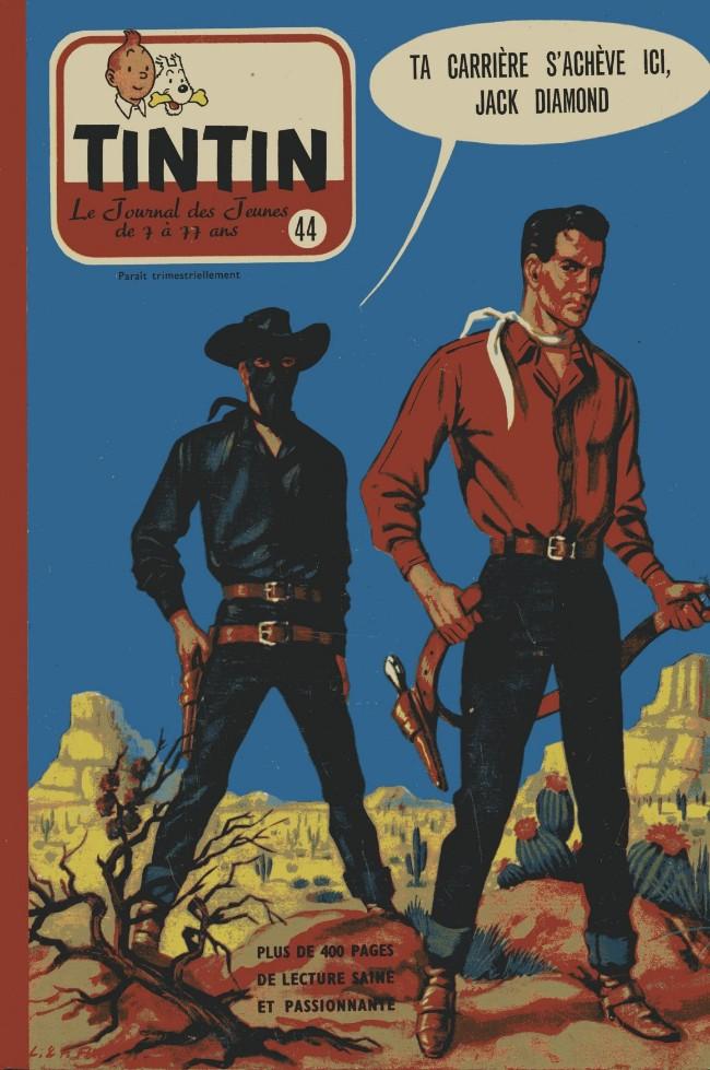 Couverture de (Recueil) Tintin (Album du journal - Édition belge) -44- Tome 44