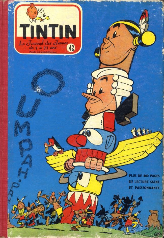 Couverture de (Recueil) Tintin (Album du journal - Édition belge) -42- Tome 42