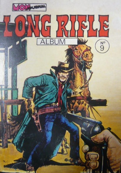 Couverture de Long Rifle -Rec09- Album N°9 (du n°25 au n°27)