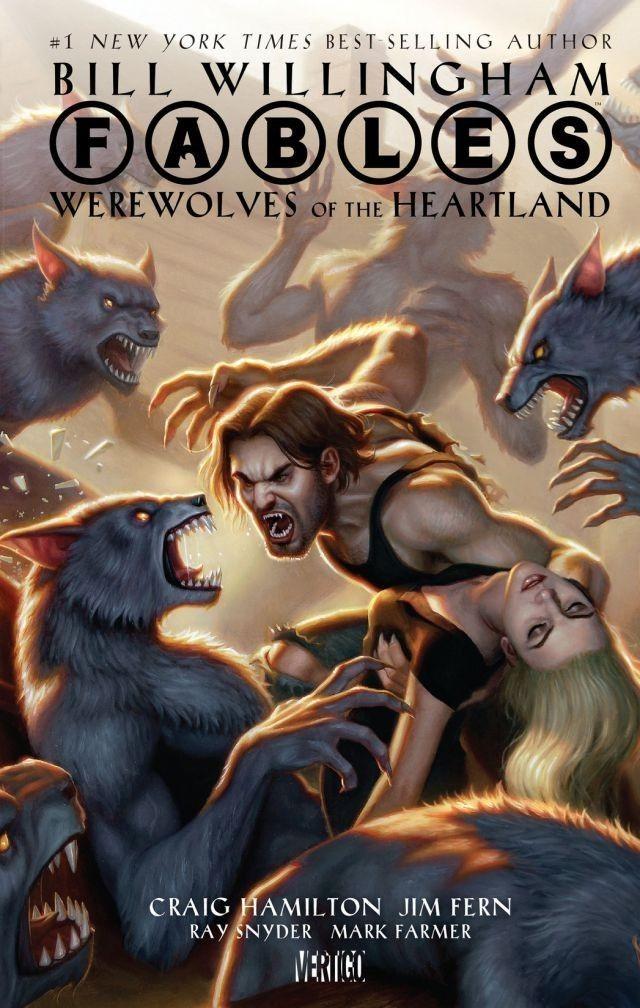Couverture de Fables (2002) -HS- Werewolves of the Heartland