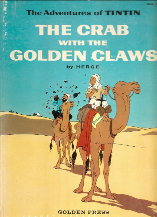 Couverture de Tintin (The Adventures of) -9- The Crab with the Golden Claws