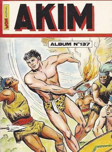 Couverture de Akim (1re série) -Rec137- Album N°137 (du n°669 au n°672)