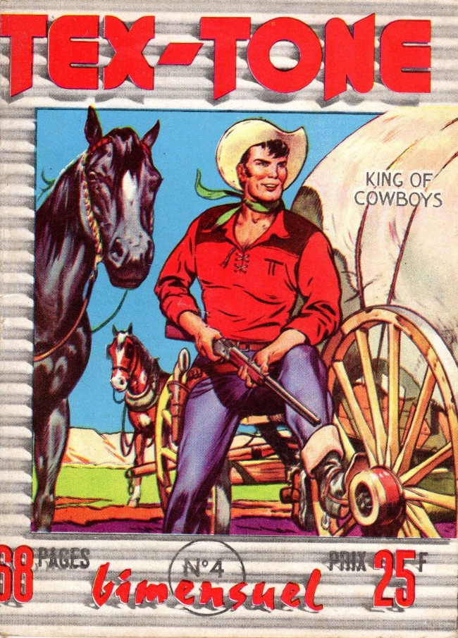 Couverture de Tex-Tone -4- Le bétail disparu