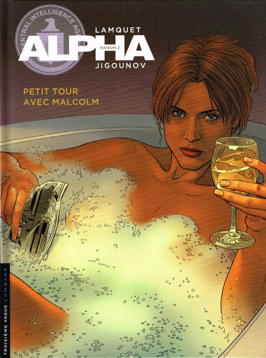 Couverture de Alpha (Lombard) -12- Petit tour avec Malcolm