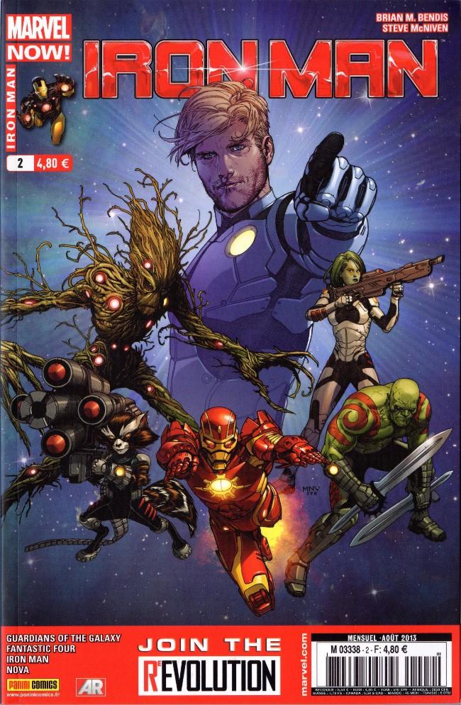 Couverture de Iron Man (Marvel France - 2013) -2- Piège spacial