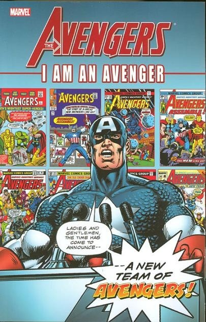 Couverture de Avengers (The) (1963) -INT- I am an Avenger volume 1