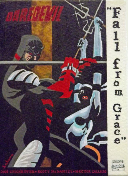 Couverture de Daredevil (1964) -INT- Fall from Grace