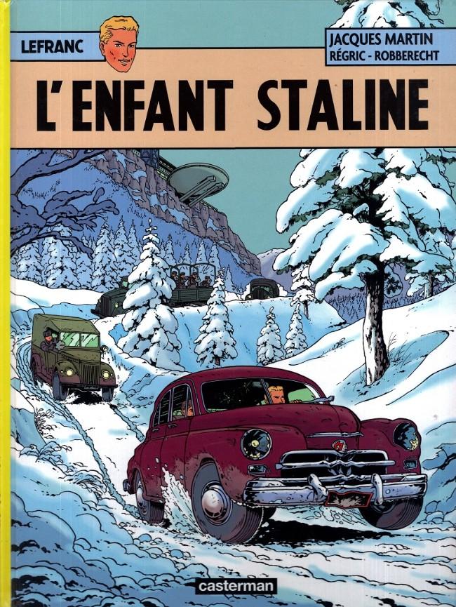 Couverture de Lefranc -24- L'enfant Staline
