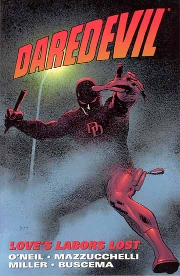 Couverture de Daredevil Vol. 1 (Marvel - 1964) -INT- Love's Labors Lost