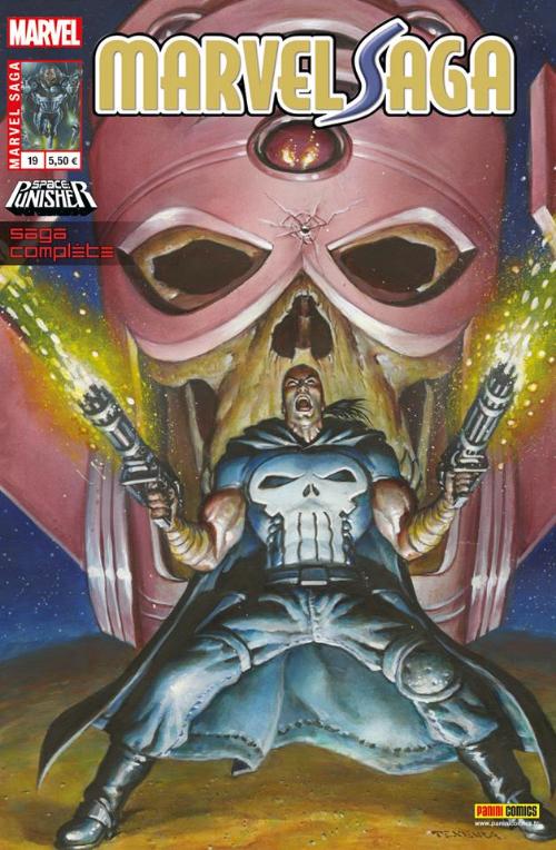 Couverture de Marvel Saga (1re série - 2009) -19- Le punisher de l'espace