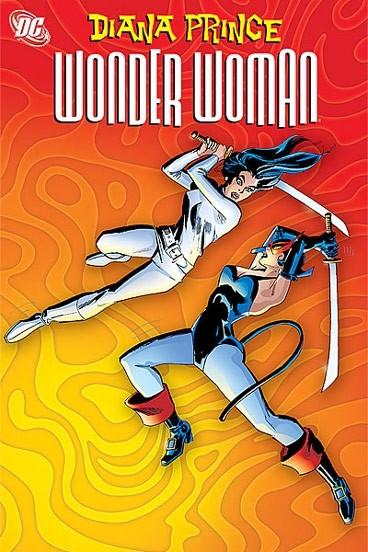 Couverture de Wonder Woman Vol.1 (DC Comics - 1942) -INT- Diana Prince: Wonder Woman volume 4