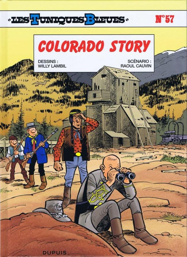 Les tuniques Bleues Tome 57 : Colorado story