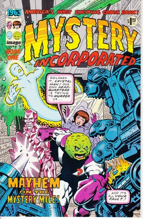 Couverture de 1963 (1993) -1- Mystery Incorporated