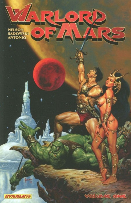 Couverture de Warlord of Mars (2010) -INT01- Warlord of Mars