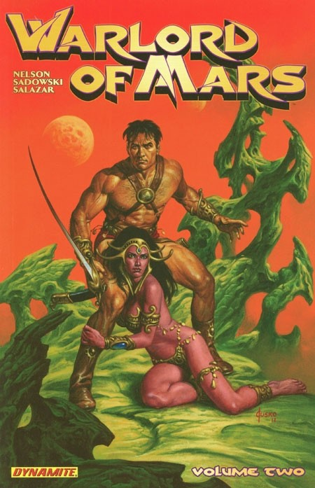 Couverture de Warlord of Mars (2010) -INT02- Volume 2
