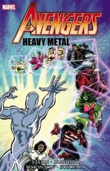 Couverture de Avengers Vol. 1 (Marvel Comics - 1963) -INT- Heavy Metal