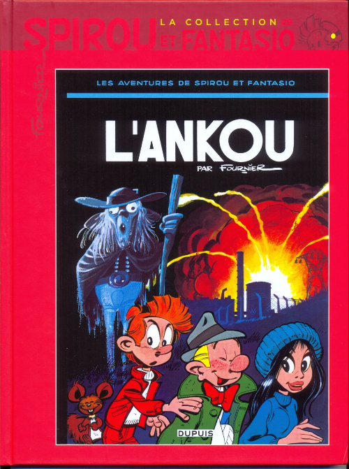Couverture de Spirou et Fantasio - La collection (Cobra) -29- L'Ankou