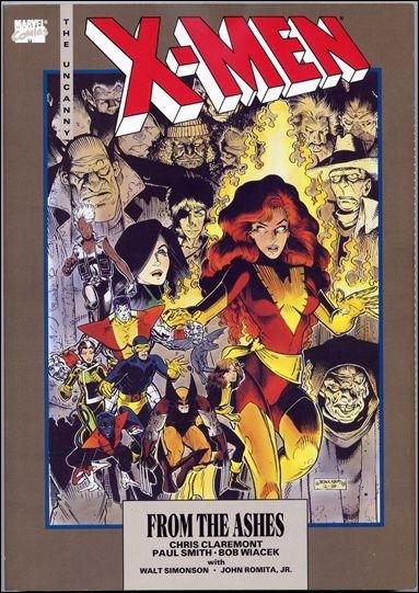 Couverture de Uncanny X-Men (The) (Marvel comics - 1963) -INT- From the Ashes