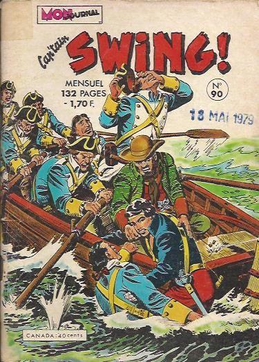 Couverture de Capt'ain Swing! (1re série) -90- Le traître