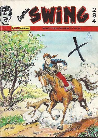 Couverture de Capt'ain Swing! (1re série) -294- L'homme d'Oriskany