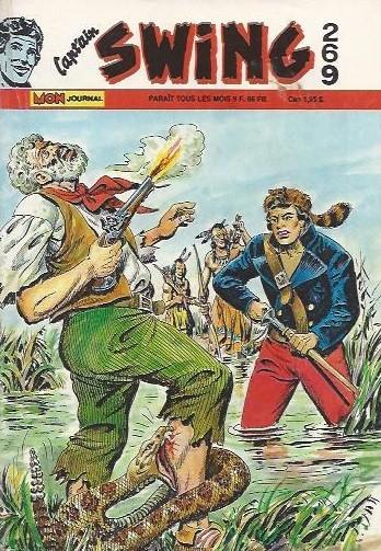 Couverture de Capt'ain Swing! (1re série) -269- Le pli maudit