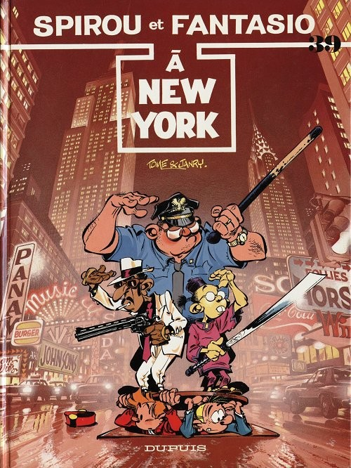 Couverture de Spirou et Fantasio -39- Spirou à New York