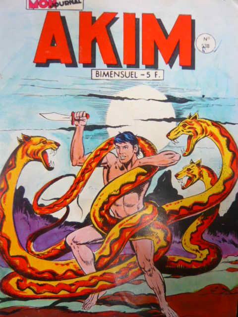 Couverture de Akim (1re série) -538- Les flammes froides