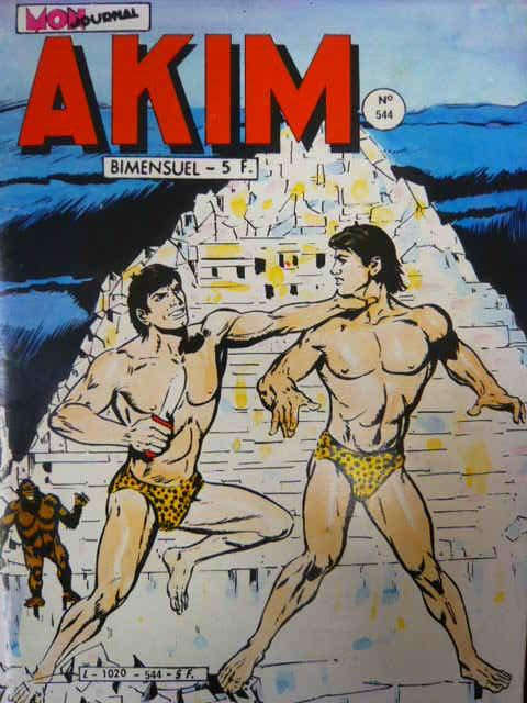 Couverture de Akim (1re série) -544- L'armée de Mog