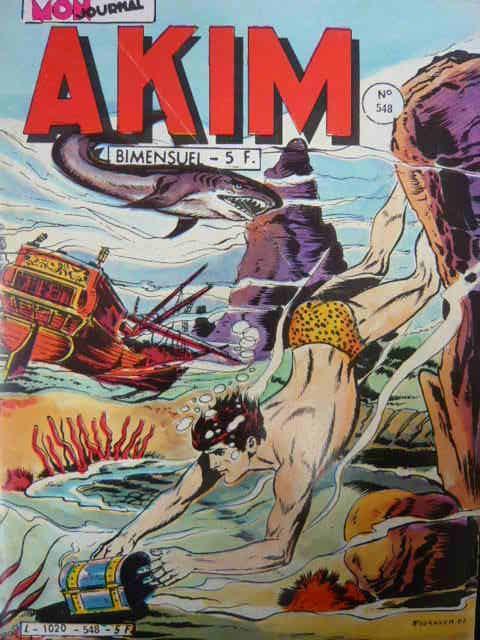Couverture de Akim (1re série) -548- Le puits de la mort