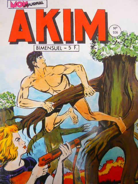 Couverture de Akim (1re série) -556- L'arme secrète d'Akim