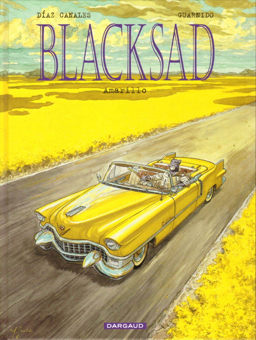 Couverture de Blacksad -5- Amarillo