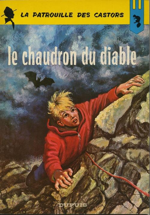 Couverture de La patrouille des Castors -14- Le chaudron du diable
