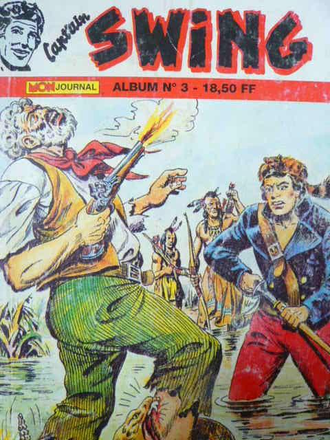 Couverture de Capt'ain Swing! (2e série - Mon Journal) -Rec03- Album N°3 (du n°7 au n°9)