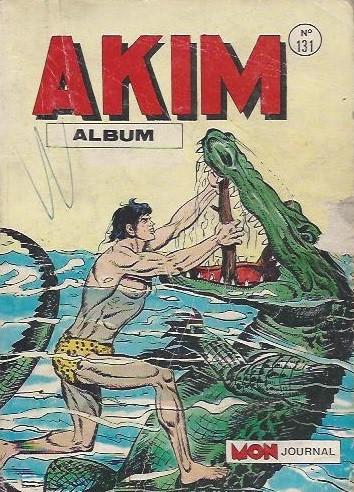 Couverture de Akim (1re série) -Rec131- Album N°131 (du n°645 au n°648)
