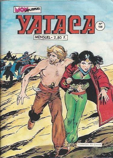 Couverture de Yataca (Fils-du-Soleil) -128- Opération