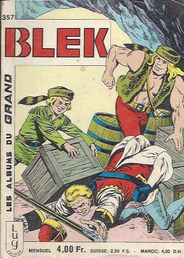 Couverture de Blek (Les albums du Grand) -357- Numéro 357