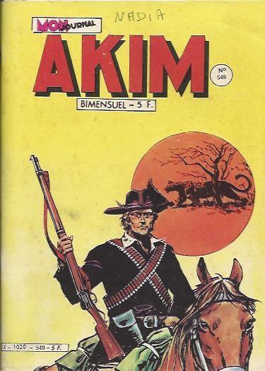 Couverture de Akim (1re série) -549- Le mystère de la forêt noire