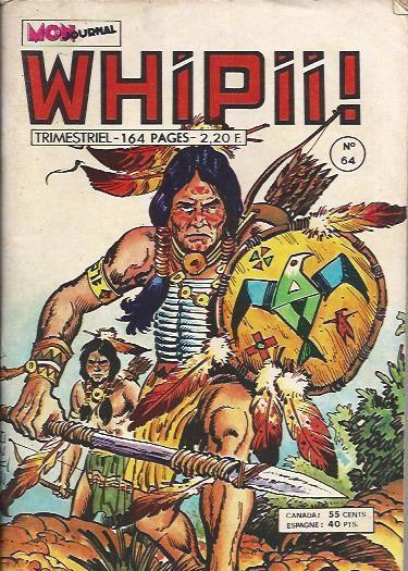 Couverture de Whipii ! (Panter Black, Whipee ! puis) -64- Larry Yuma - L'attaque de la diligence