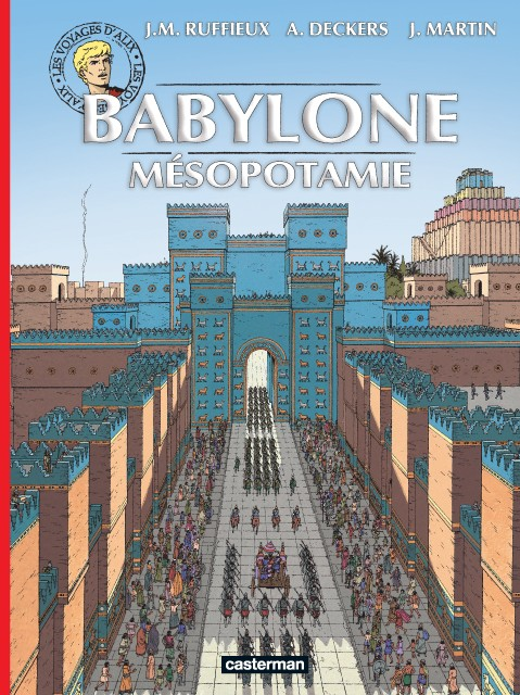Couverture de Alix (Les Voyages d') -35- Babylone - Mésopotamie