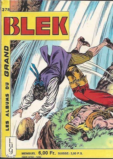 Couverture de Blek (Les albums du Grand) -378- Un conte de Noël