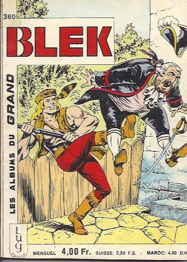 Couverture de Blek (Les albums du Grand) -360- Opération dynamite