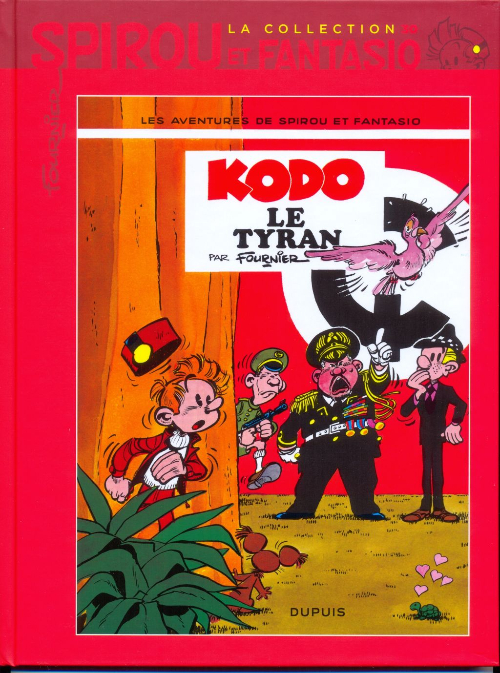 Couverture de Spirou et Fantasio - La collection (Cobra) -30- Kodo le tyran
