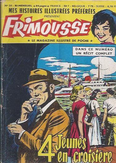 Couverture de Frimousse et Frimousse-Capucine -20- L'île au diable