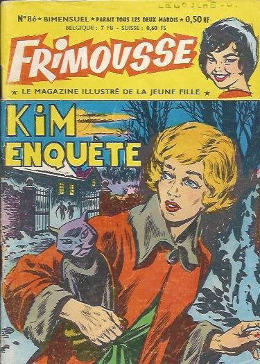 Couverture de Frimousse et Frimousse-Capucine -86- Kim enquête