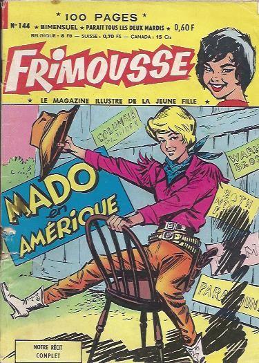 Couverture de Frimousse et Frimousse-Capucine -144- Mado en amérique